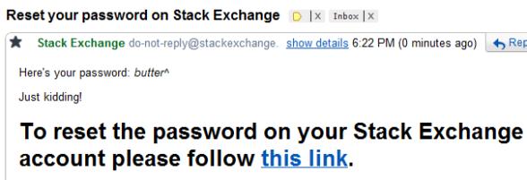 """butter^"" is not a valid password for StackID."